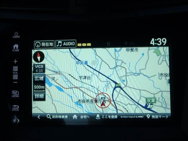 Hondaインターナビ!フルセグ!USB/HDMI!Bモニター!ELSプレミアムオーディオ!セミニアリンレザー/アルカンターラシート!シートヒーター!パワーシート!運転席メモリーシート!パドルシフト!