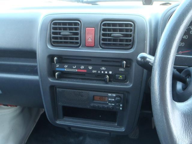 KCエアコン・パワステ 純正AM/FMラジオ F5速MT ヘッドライトレベライザー 荷台マット(45枚目)