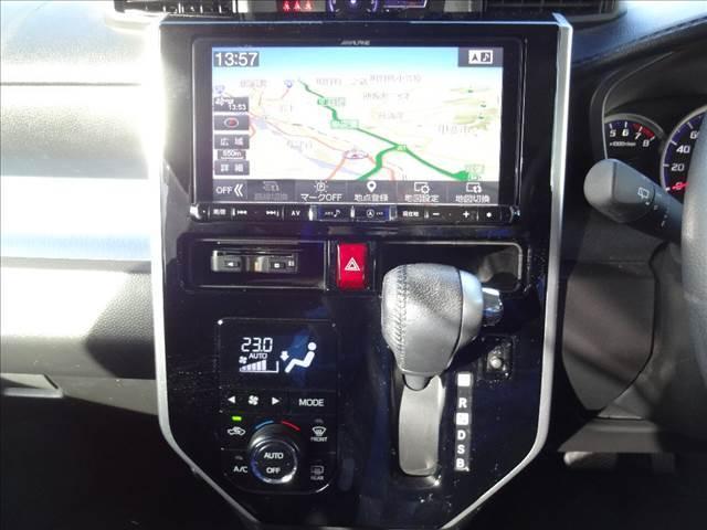 カスタムR スマートアシスト 純正アルパイン9インチナビ フルセグ パノラミックビューモニター ワンタッチ両側パワスラ スマートアシスト2 クルコン LEDヘッドライト&フォグランプ 前席シートヒーター ETC オートエアコン(41枚目)