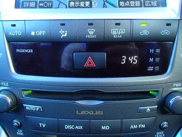 レクサス IS IS250 バージョンS メーカーHDDナビ社外20AW