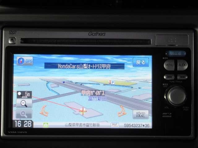 ホンダ フィット 13G・スマートセレクション Honda純正メモリーナビ バック