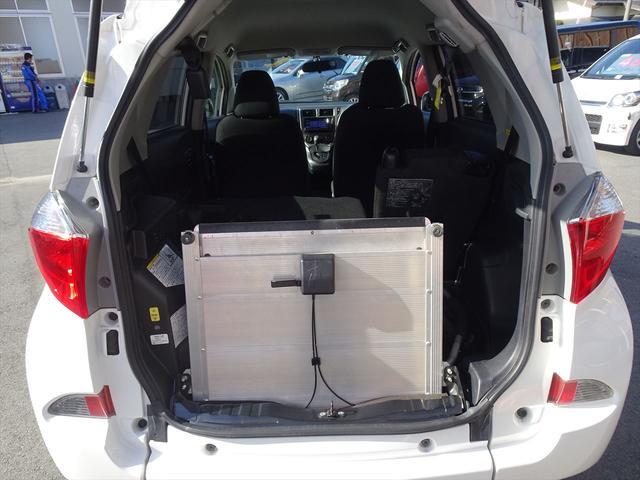 X 車いす仕様車 ウェルキャブ HDDナビ ロングラン保証(11枚目)