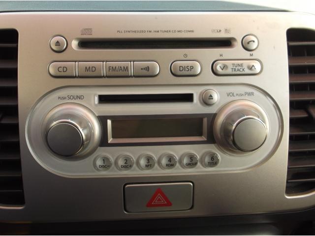 スズキ MRワゴン ウィット GS キーレススタート フォグライト 純正CDMD