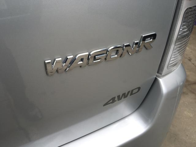 スズキ ワゴンR FX 4WD 5速MT CDオーディオ セキュリティアラーム