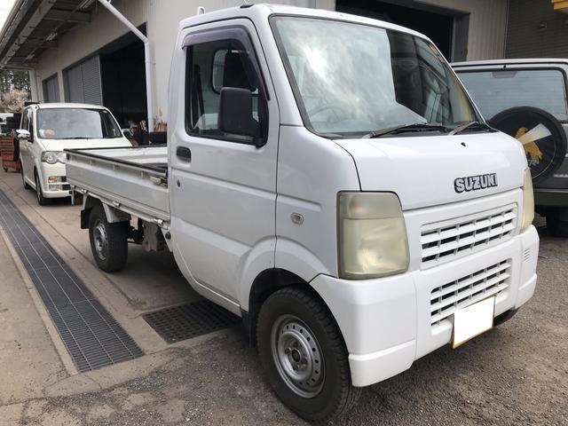 4WD 5MT 軽トラック オーディオ付 ホワイト PS(3枚目)