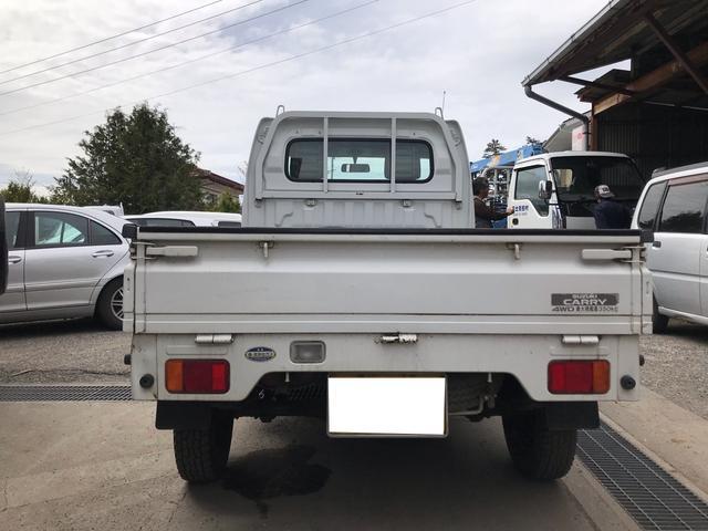 4WD 5MT 軽トラック オーディオ付 ホワイト PS(8枚目)