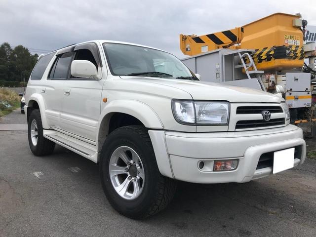 「トヨタ」「ハイラックスサーフ」「SUV・クロカン」「長野県」の中古車3