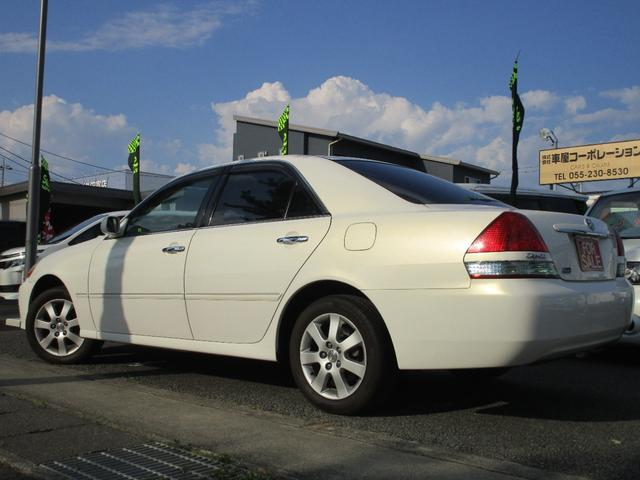 グランデFour 4WD 2000cc 純正ナビ バックカメラ ETC車載器 マークII最終モデル 110系 ウッドパネル キーレスエントリー 車検整備付(7枚目)