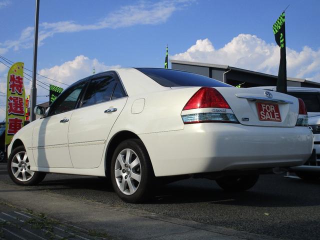 グランデFour 4WD 2000cc 純正ナビ バックカメラ ETC車載器 マークII最終モデル 110系 ウッドパネル キーレスエントリー 車検整備付(8枚目)