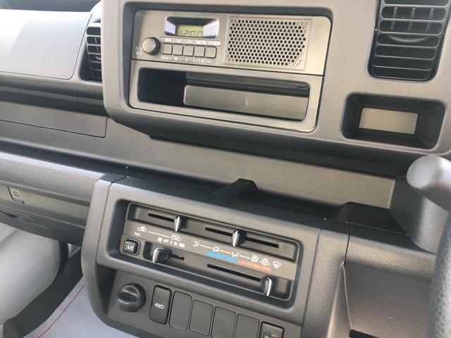 ダイハツ ハイゼットトラック スタンダード 4WD 5MT 三方開 届出済未使用車