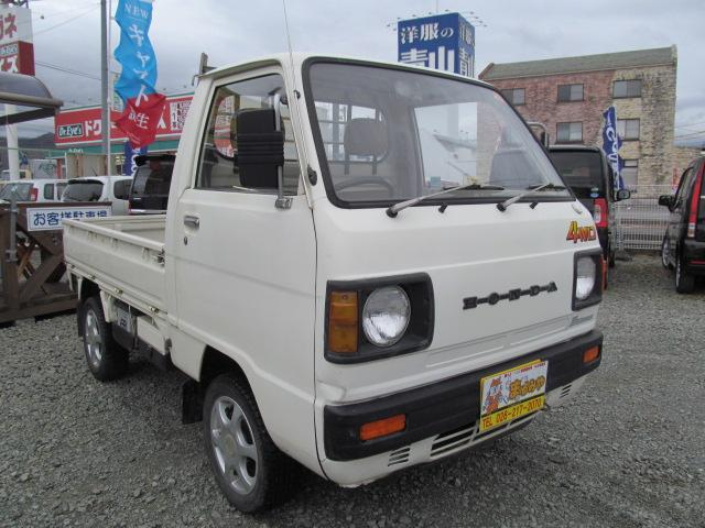 ホンダ アクティトラック SDX 4WD 5速マニュアル 三方開 社外アルミ