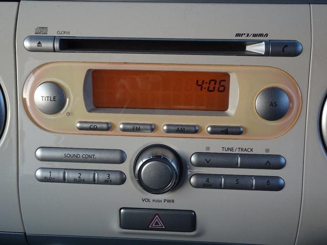 X プッシュスタート 純正CDデッキ フロントベンチシート サイドバイザー 車検令和4年12月(10枚目)