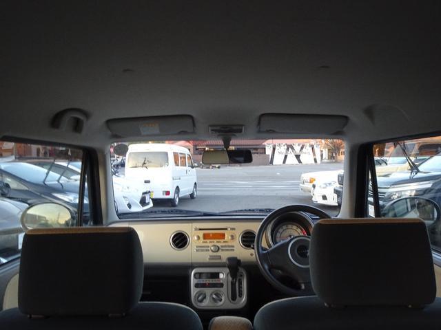 X プッシュスタート 純正CDデッキ フロントベンチシート サイドバイザー 車検令和4年12月(12枚目)