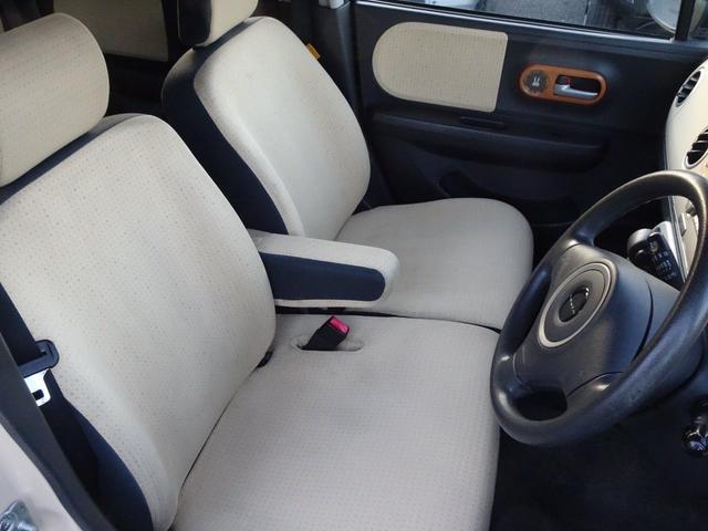 X プッシュスタート 純正CDデッキ フロントベンチシート サイドバイザー 車検令和4年12月(21枚目)