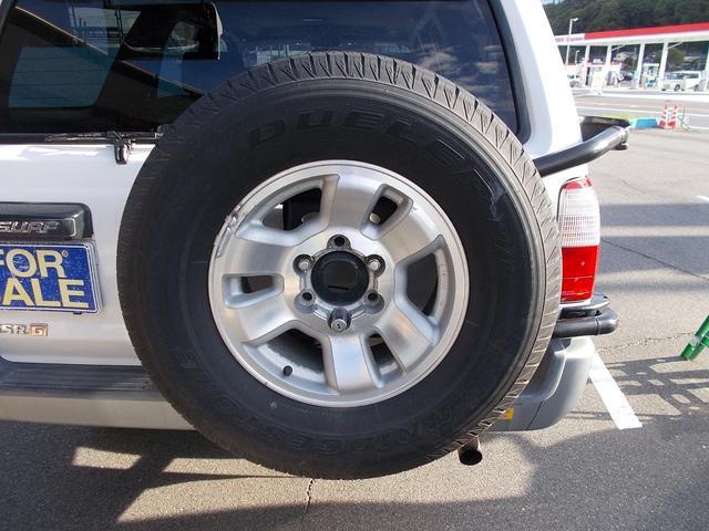 トヨタ ハイラックスサーフ SSR-G ワイド 4WD サンルーフ キーレス ETC