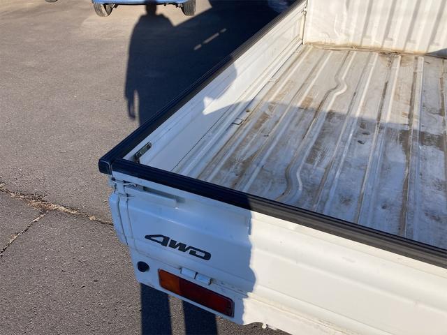 4WD 5速マニュアル パワーステアリング 三方開 ドアバイザー ラジオ 修復歴無し 保証付き 走行距離82004キロ 車検整備付き(9枚目)