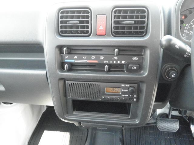 エアコン・ラジオ付きなので快適に運転でします(o´・ω-)b ネッ♪