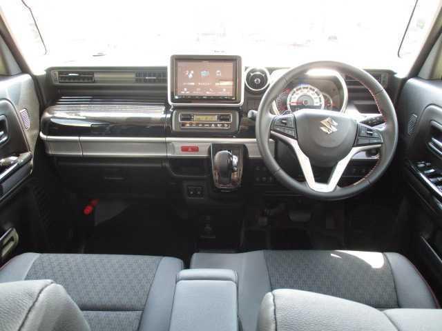 ハイブリッドXSターボ 4WD ターボ 両側電動スライドドア 社外SDナビ(7枚目)