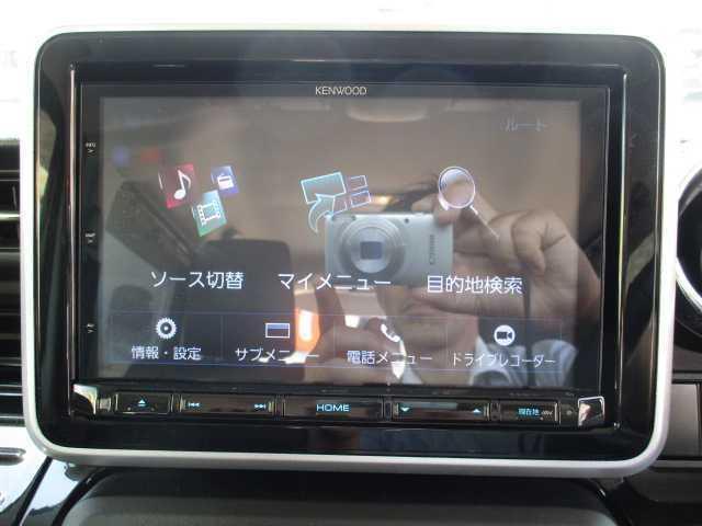 ハイブリッドXSターボ 4WD ターボ 両側電動スライドドア 社外SDナビ(12枚目)