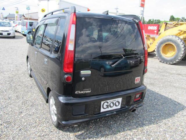 ダイハツ ムーヴ エアロダウンカスタムXX CDオーディオ 4WD