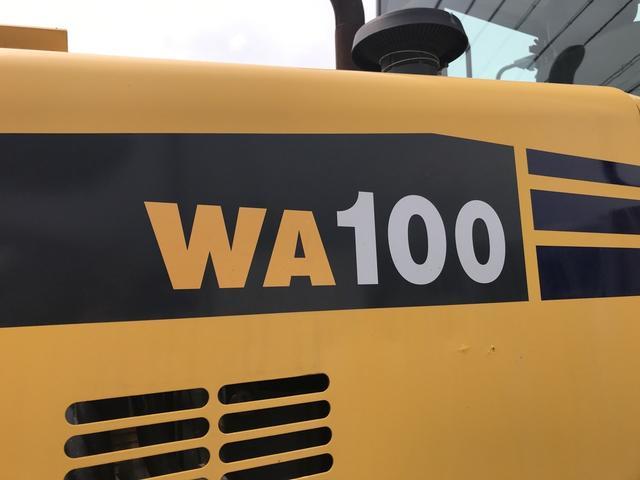 コマツ WA100-5 1832アワータイヤショベル 除雪用(8枚目)