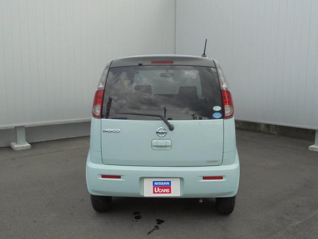 日産 モコ S FOUR 4WD ベンチシート リモコンキー