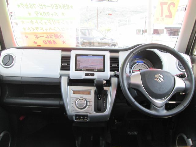X 4WD ワンオーナー 社外メモリーナビ HIDライト(3枚目)