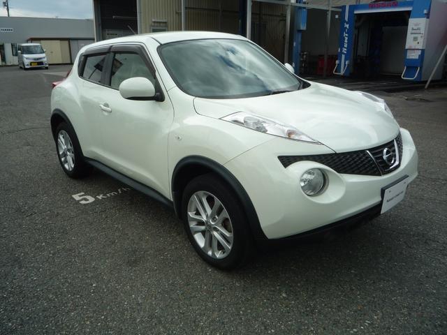「日産」「ジューク」「SUV・クロカン」「長野県」の中古車4