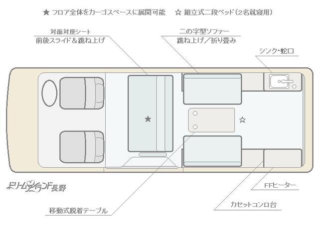 「トヨタ」「ハイエース」「その他」「長野県」の中古車2