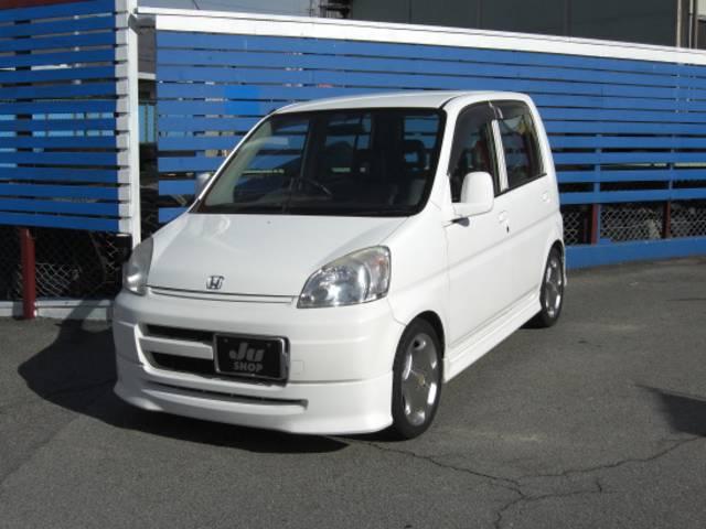 オリーブ展示車(お問合せ 055−243−2616)当社規定の60項目の点検を実施します。社外15インチアルミ・ローダウン