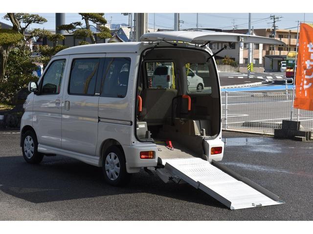 福祉車両 スローパー リアシート付4人乗り(7枚目)
