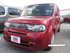 沖縄の中古車 日産 キューブ 車両価格 98万円 リ済別 平成26年 3.0万K ラディアントレッドPM