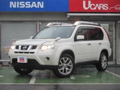 エクストレイル20Xt 4WD ハイパールーフレール ナビTV キセノン