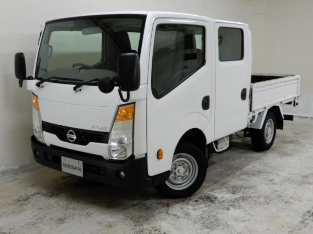 日産 1.15t Wキャブ フルスーパーロー 4WD
