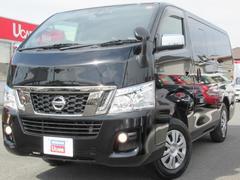 NV350キャラバンバンプレミアムGX 低床 クロムギアP VERブラック 4WD