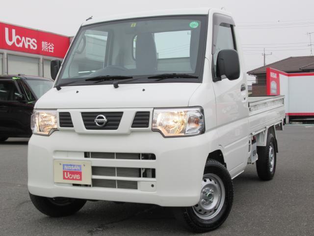 日産 DX  パ-トタイム4WD ワンオ-ナ-車 エアコン装備