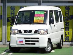 NV100クリッパーバンDX ハイルーフ 3AT ★純正メモリーナビ/ワンセグ