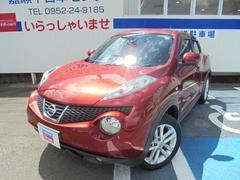 ジューク15RX タイプV 社外ナビ・TV・スマートキー付