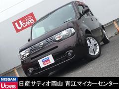 キューブ15X Vセレクション 純正メモリーナビ ワンオーナー車