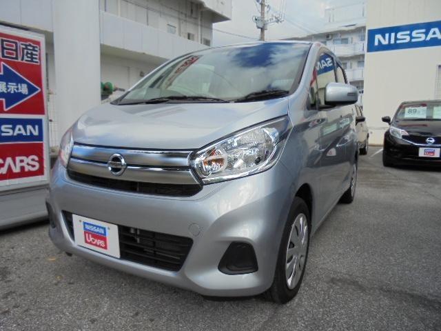 沖縄の中古車 日産 デイズ 車両価格 98万円 リ済別 平成29年 2.7万km クールシルバーM