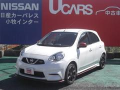 マーチNISMO S 【専用スポーツシート】【専用サスペンション】