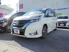 沖縄の中古車 日産 セレナ 車両価格 248万円 リ済別 平成29年 3.4万K ブリリアントホワイトP3P