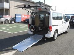 NV200バネットバンチェアキャブ スローパー 車椅子1基 当社社有車アップ