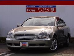 シーマ450XV 本革シート DVDナビ TV