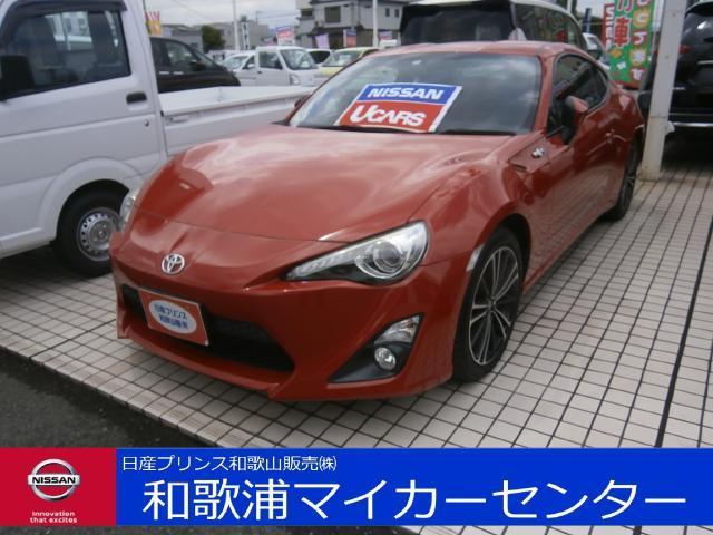 トヨタ GT 6MT ナビ バックモニター ETC