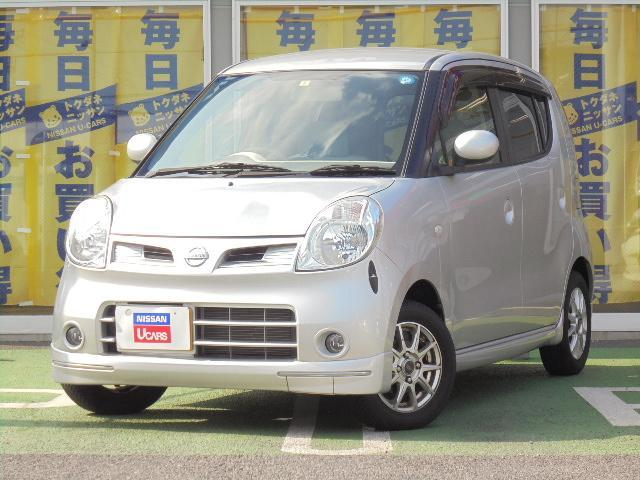 日産 G エアロスタイル ターボ 4WD 純正メモリーナビ/地デジ