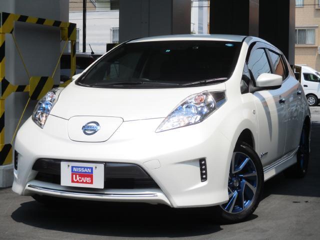 日産 S エアロスタイル(30kwh)EV専用メモリーナビ
