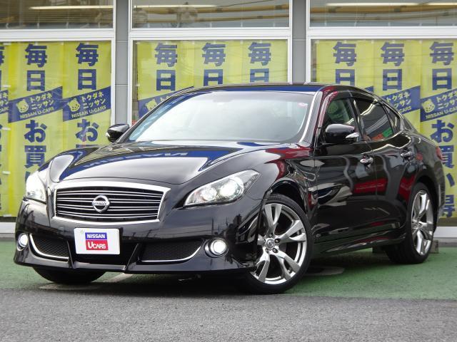 日産 370GT タイプS 黒革 BOSE キセノン