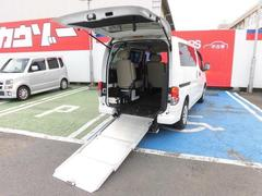 NV200バネットバンスロープタイプ 車椅子1台固定 左オートステップ