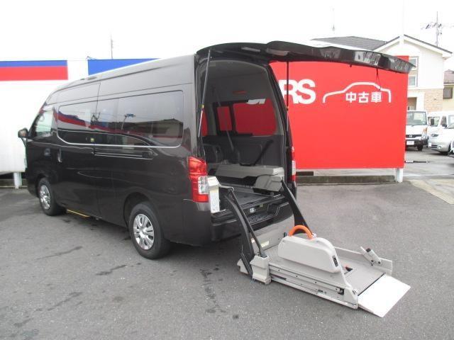 日産 NV350キャラバンバン チェアキャブスロープタイプ 車椅...